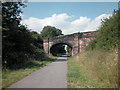 SJ3768 : Railway Bridge Blacon by Dennis Turner