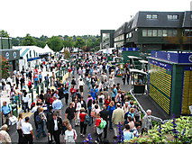 TQ2472 : Main Concourse Wimbledon Championship Fortnight by Richard Law