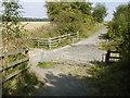 NZ4029 : Crossing of the Castle Eden Walkway with Green Lane by Mick Garratt