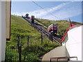 NZ6621 : Funicular, Saltburn, Yorkshire by Dr Neil Clifton
