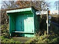 SD6078 : Bus Shelter, near Kirkby Lonsdale by Dave Bushell