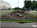 TQ2904 : Floral Clock, Palmeira Square, Hove by Simon Carey