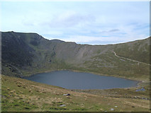 NY3415 : Red Tarn and Swirral Edge by Gary Rogers