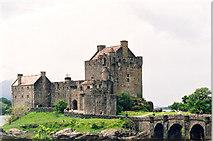 NG8825 : Eilean Donan Castle on Loch Duich, West Highlands by Marion Dutcher