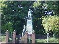 SJ4793 : War Memorial, Prescot by Sue Adair