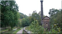 SK3155 : Leawood Pumphouse and the Cromford Canal, Derbyshire by Alan Walker