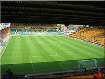 "TG2407 : Norwich City Football Ground ""Carrow Road"" by Caroline Flatt"