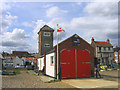 TM4656 : Lifeboat Station, Aldeburgh, Suffolk by John Winfield