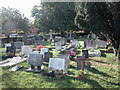 SJ3670 : Saughall graveyard by Dennis Turner