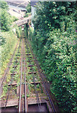 SS7249 : Waterpowered Railway between Lynton and Lynmouth, North Devon by Marion Dutcher