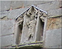 SJ5608 : Detail from the church tower at Wroxeter. by Bob Bowyer