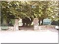 SD7285 : Whernside Manor entrance. by SIMON PHILLIPS