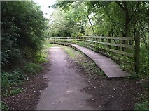 SP2180 : Raised footway at the end of Marsh Lane by Simon Jobson