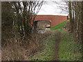 SJ3024 : Montgomery Canal, new Bridge at Redwith by John Haynes