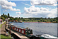 SK5335 : Entrance to Beeston Lock by Christine Hasman