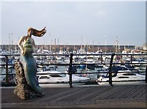 TQ3303 : Mermaid, Brighton Marina by Bob Embleton