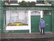 D3115 : The River Cafe, Glenarme by Kenneth  Allen