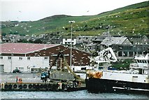 HU4642 : Lerwick Harbour by David Wyatt