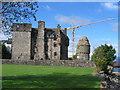 NS3274 : Newark Castle, Port Glasgow, Inverclyde by Brian D Osborne