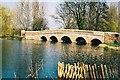 TQ4871 : Five Arch Bridge, River Cray, Sidcup, Kent by Dr Neil Clifton
