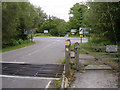 SU2912 : Junction of Beechwood Road with the A337 at Shave Wood, New Forest by Jim Champion