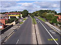 NZ2469 : Great North Road by Weston Beggard