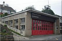 SX3384 : Launceston Old Fire Station 1 by Kevin Hale