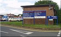 TQ3939 : Queen Victoria Hospital - sign by Nigel Freeman