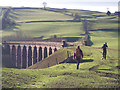 SD6196 : Lowgill Viaduct, Lune Valley, Cumbria by Ralph Rawlinson