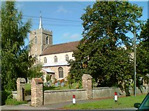TL3677 : St John The Baptist Church, Somersham by Tim Marchant