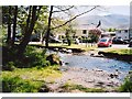 NY2232 : Ford and village, Bassenthwaite by Andrew Smith