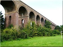TL8928 : Chappel Viaduct, Near Wakes Colne, Essex by Brenda Howard
