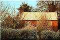 TM4469 : St Peter's Church and Lavender Cottage, Westleton by Nat Bocking