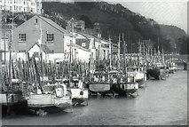SX2553 : Fishing boats, West Looe by Crispin Purdye