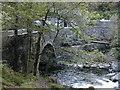 SH5946 : Pont Aberglaslyn by Peter Shone