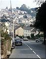 SX3285 : Launceston from Saint Stephens Hill 1973 by Crispin Purdye