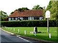 TM0019 : Abberton & Langenhoe Sign by Glyn Baker