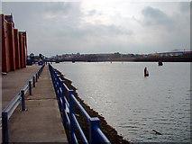 TA2710 : Alexandra Dock, Grimsby by David Wright
