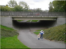 NZ2465 : Exhibition Park Underpass by MSX