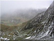 SH6360 : The Northern Face of Y Garn by David Crocker