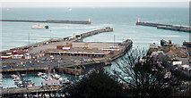 TR3140 : Dover Western Docks by Crispin Purdye
