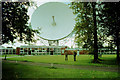 SJ7971 : Jodrell Bank radio telescope dish by Peter Ward