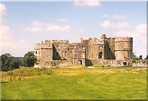 SN0403 : Carew Castle from the east by Humphrey Bolton