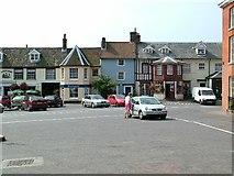 TG1022 : Reepham Market Place by Mark Boyer