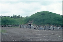 N9973 : Knowth, Boyne Valley, during excavations. by Dr Charles Nelson