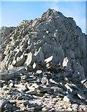 SH6659 : North Ridge, Tryfan by David Crocker