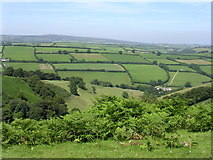 SS8834 : Punchbowl from Winsford Hill by Richard Greenwood