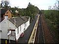 NS5855 : Thorntonhall Railway Station by Iain Thompson