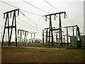 NS4460 : Neilston Substation by David Neale