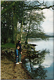 SD2890 : A calm morning on the shores of Coniston Water by Malcolm Street